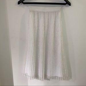 ARITZIA (little moon) lace twirl skirt